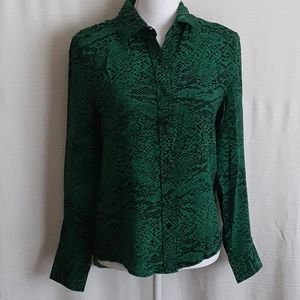 Green The Shirt by Rochelle Behrens blouse
